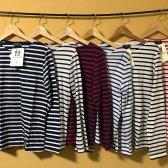 세인트제임스 밍콰이어 스트라이프 티셔츠 6종 모음 남여공용