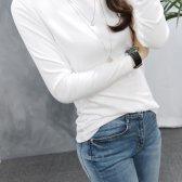 단독진행 보트넥 티셔츠 여성 기본 긴팔티 메다