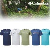 컬럼비아 s 남성 로고 프린팅 반팔 티셔츠 cy2 JE1586