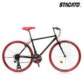 STACCATO 하이브리드자전거 타우니 21단 로드