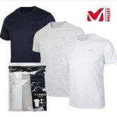 MILLET 밀레 millet 남성 여름 3가지의류가한팩 데일리 티셔츠 MVMUT402