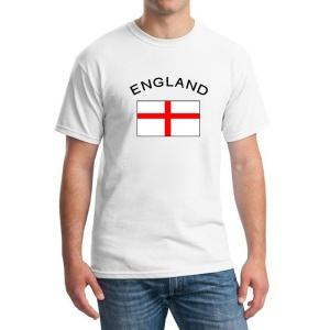 a049929862f BLWHSA 남성 티셔츠 팬 응원 국기 코튼 맞춤 T 셔츠 피트니스 티 캐주얼 n