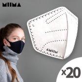 미마마스크 스타터킷 KF99 미세먼지 마스크 + 필터 5매
