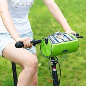 핸드폰 터치 자전거 핸들 가방 여행용 크로스백 안장