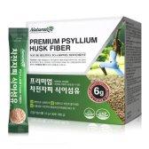 한국바이오팜 네추럴라이즈 프리미엄 차전자피 분말 가루 식이섬유 6g x 30포