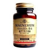 솔가 마그네슘 위드 비타민 B6 550mg x 100정