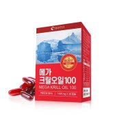 케이지앤에프 BOTO 메가크릴오일 1000mg x 30캡슐