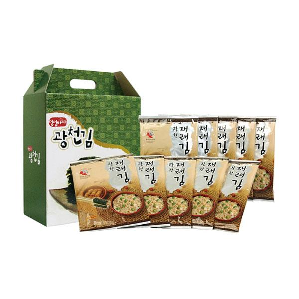 [<b>광천김</b>]<b>청정바다광..