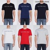 캘빈클라인 진 남성 로고 스트레치 반팔 티셔츠 J307543