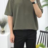 7컬러 쫀쫀스판 오버핏 여름 반팔티셔츠