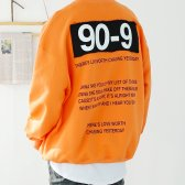 90-9 남자 오버핏 커플 맨투맨 티셔츠 3컬러