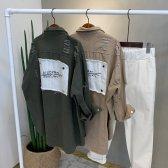 봄신상 디스트로이드 자켓