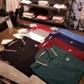 몽클레어 NEW 남성 카라 스트라이프 반팔 폴로셔츠 Poloshirt