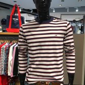 타미힐피거 남여공용 스트라이프 긴소매 티셔츠 T31J6TTO023MT6B79