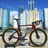 스페셜라이즈드 에스웍스 벤지 스램 레드 AXS 파워미터 사이클 자전거 2020년