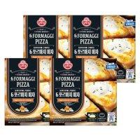 [오뚜기] 6 포르마지 피자 405g x 4판