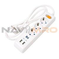USB 충전콘센트 3구 2포트 / 상품코드:291086