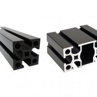알루미늄프로파일 20 30 40 블랙 경량 중량 절단 가공 제작 선반 축양장