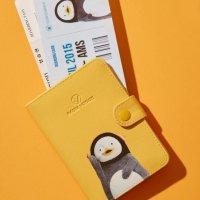 [라움 보야지] [라움보야지x펭수] 여권지갑 옐로우 LPLG0GP01Y2