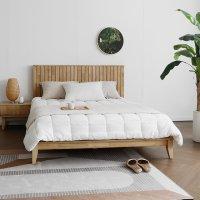 [하모니] U형 원목 침대 프레임