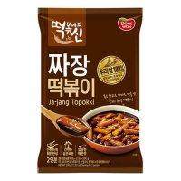 [동원] 떡볶이의신 짜장떡볶이 385g (2인분)
