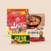 [동원]양반 참치부대찌개 460gx4봉+리챔 200gx4캔+진라면 매운맛 5봉