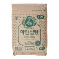 하얀설탕 15kg/백설