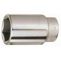 [지니어스] 롱 핸드 소켓 6각 3/4인치 (19mm, 46mm, 복스알, 629546)