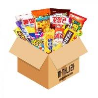 까까나라 랜덤 럭키박스 11p 대용량 과자 선물세트 어린이집 단체 사무실간식