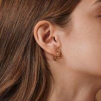 [헤이] [박재범, 이기광, 이선빈, 문빈, 승희, 미연, 기현 착용] ribbon twist earring