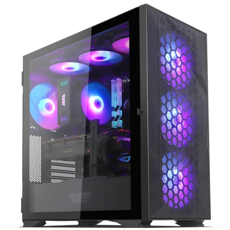 다크플래쉬 DLX21 RGB MESH 강화유리