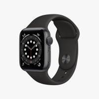 Apple watch Series 6 스페이스 그레이 알루미늄 케이스