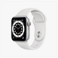 Apple watch Series 6 실버 알루미늄 케이스