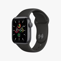 Apple watch SE 스페이스 그레이 알루미늄 케이스