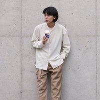[르아브] 미니멀리즘 슬림차이나 셔츠 (2Color)