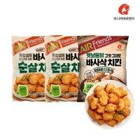 [마니커에프앤지]마니커에프앤지 바사삭치킨한마리 500g(2봉) + 치킨너겟텐더 200g(2봉) 외 5종