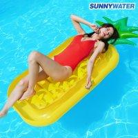 써니워터 특대형 파인애플 튜브 물놀이용품 보트 수영용품