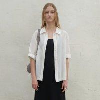 [블루브릭] Linen jacket shirts (ivory)