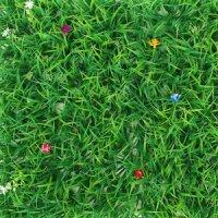 비투비월드 숲인테리어 작은꽃 벽장식 인조잔디(60x40cm)