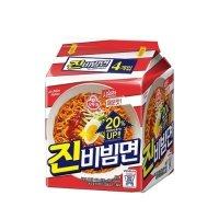 [오뚜기] 진비빔면 1봉(4입-유통기한 11/12) + [동원] 구운골뱅이 1개(300g) SET
