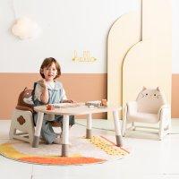 리바트 뚜뚜 높이조절 아이 책상 의자세트