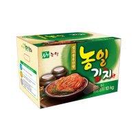 농일식품 업소용 포기김치 10kg 도매 식당
