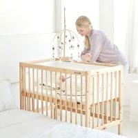 신생아 나무 원목 소나무 침대 쉬운조립