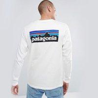 파타고니아 리스판서빌리 p-6로고 긴팔 티셔츠