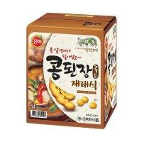 진미식품 콩된장골드 14kg 도매 업소용 식당