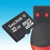 샌디스크 MICROSDHC 32GB CLASS2 (SOI)