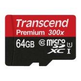 트랜센드 MicroSDXC 64GB UHS-1 CLASS10 300배속