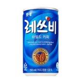 롯데칠성음료 레쓰비 마일드 커피 150ml
