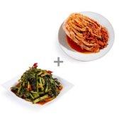 홍진경더김치 더김치 포기 3kg + 열무 3kg