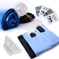 비닐봉투 1-100리터 대형 큰 검정 분리수거 투명 배접 배달 평판 속지 재활용 비닐봉지
